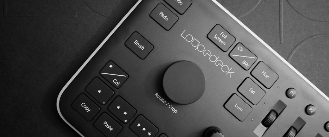 Loupedeck Konsole für Adobe Photoshop Lightroom Classic CC und Adobe Photoshop Lightroom 6